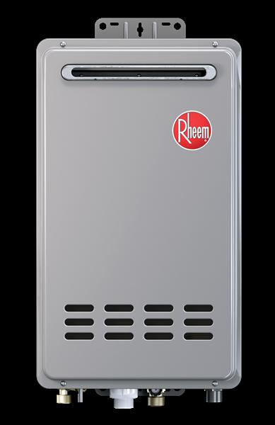 Rheem Rtg 95xeln 1 Outdoor Tankless Water Heater Built In