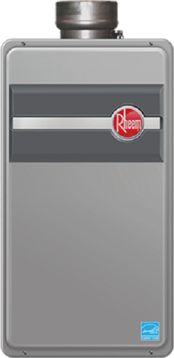 Rheem RTG-95DVLN Direct Vent Natural Gas Indoor Tankless Water Heater