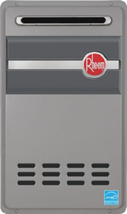 Rheem RTG-95XLN Outdoor Natural Gas Tankless Water Heater