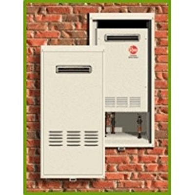 RTG Tankless Recess Box