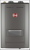 Rheem 180,000 BTU/h Natural Gas Combi Tankless Water Heater Boiler