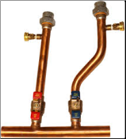Pre-Assembled Combi Boiler Manifold Kit for Rheem RCBH Units