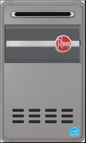 Rheem RTG-84XLN-1 Outdoor Natural Gas Tankless Water Heater