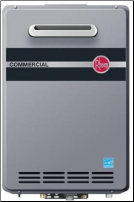 Rheem Commercial Outdoor Natural Gas Condensing Tankless Water Heater