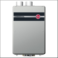 Rheem Propane Condensing Tankless Water Heater - Built-In Manifold