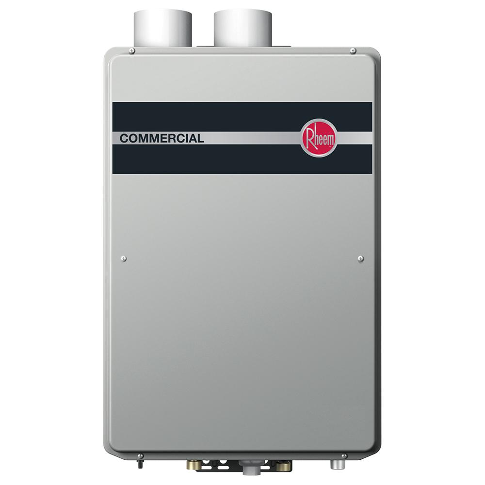 Rheem Commercial Indoor Natural Gas Condensing Tankless